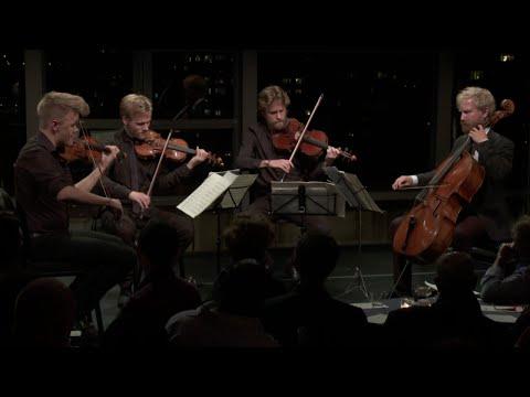 Danish String Quartet plays Bach, Thomas Adès, and Beethoven