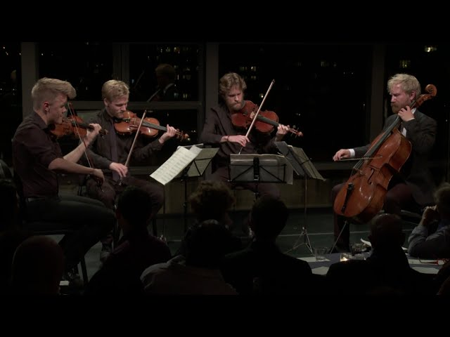 Danish String Quartet plays Bach, Thomas Adès, and Beethoven