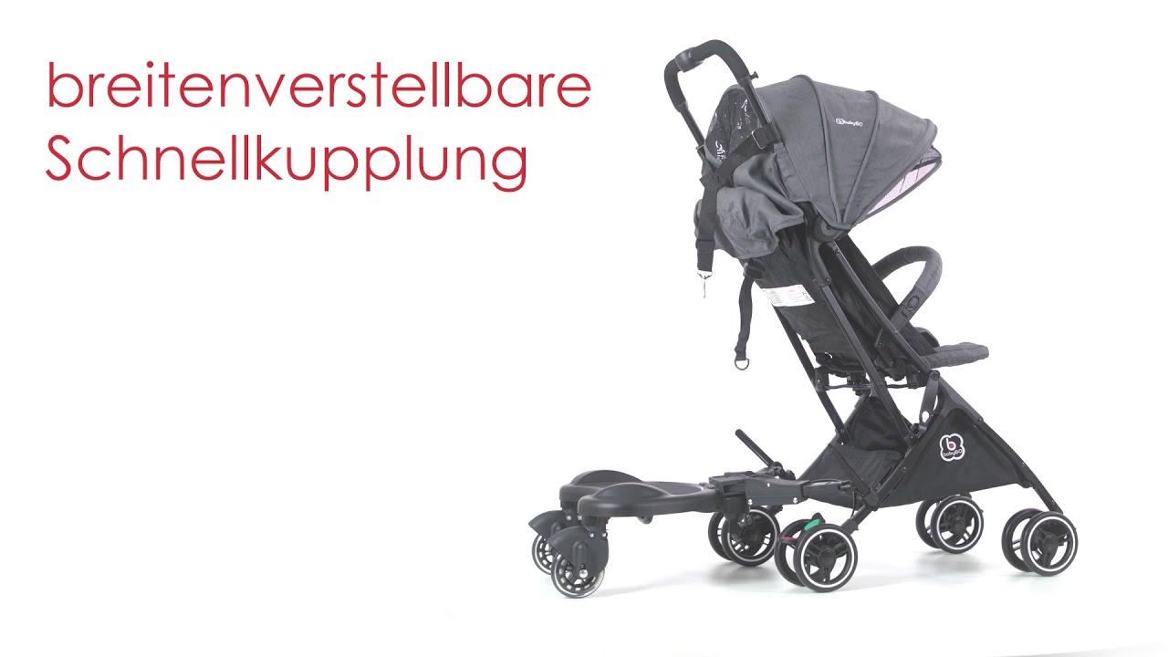 Verrassend BabyGO WeGo Buggyboard met zitje - Meerijdplankje - Baby & Koter EF-98