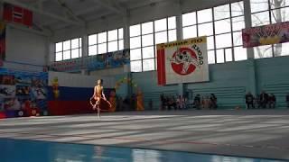 Краевые соревнования по художественной гимнастике