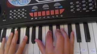 Собачий Вальс(видео урок игры на пианино., 2013-07-11T15:09:21.000Z)