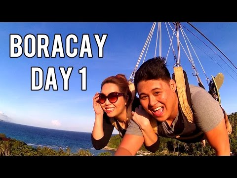 BORACAY DAY 1 (ATV, Zipline, Cable Car!) Nov. 26, 2015 - saytiocoartillero