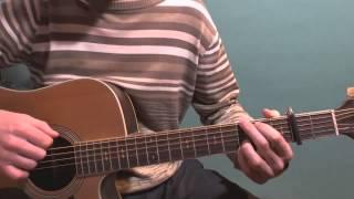 Уроки гитары Oasis Wonderwall Простые Песни Для Начинающих