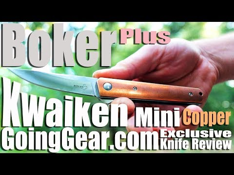 Boker Plus Kwaiken Mini Copper Going Gear Exclusive Edition Knife Review Extravaganza