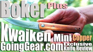 Baixar Boker Plus Kwaiken Mini Copper Going Gear Exclusive Edition Knife Review Extravaganza