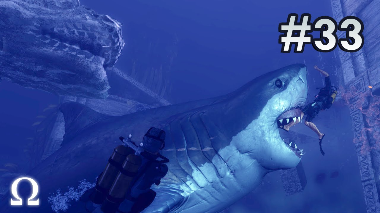 depth divers vs sharks 33 more megalodon slaughter