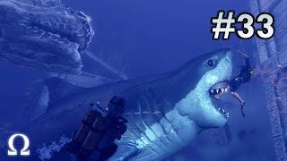DEPTH: DIVERS VS SHARKS   #33 - MORE MEGALODON SLAUGHTER! (60fps)