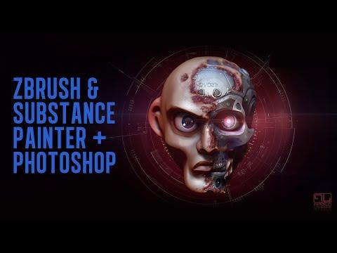 Zbrush, Photoshop e Substance Painter - Preview del corso