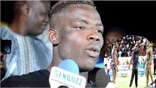 Les premiers mots de Mame Balla après sa victoire contre Tapha Mbeur « Maako meun fouf