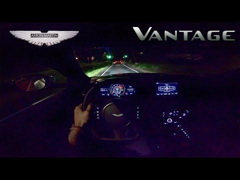 NEW! Aston Martin Vantage V8 NIGHT DRIVE POV by AutoTopNL