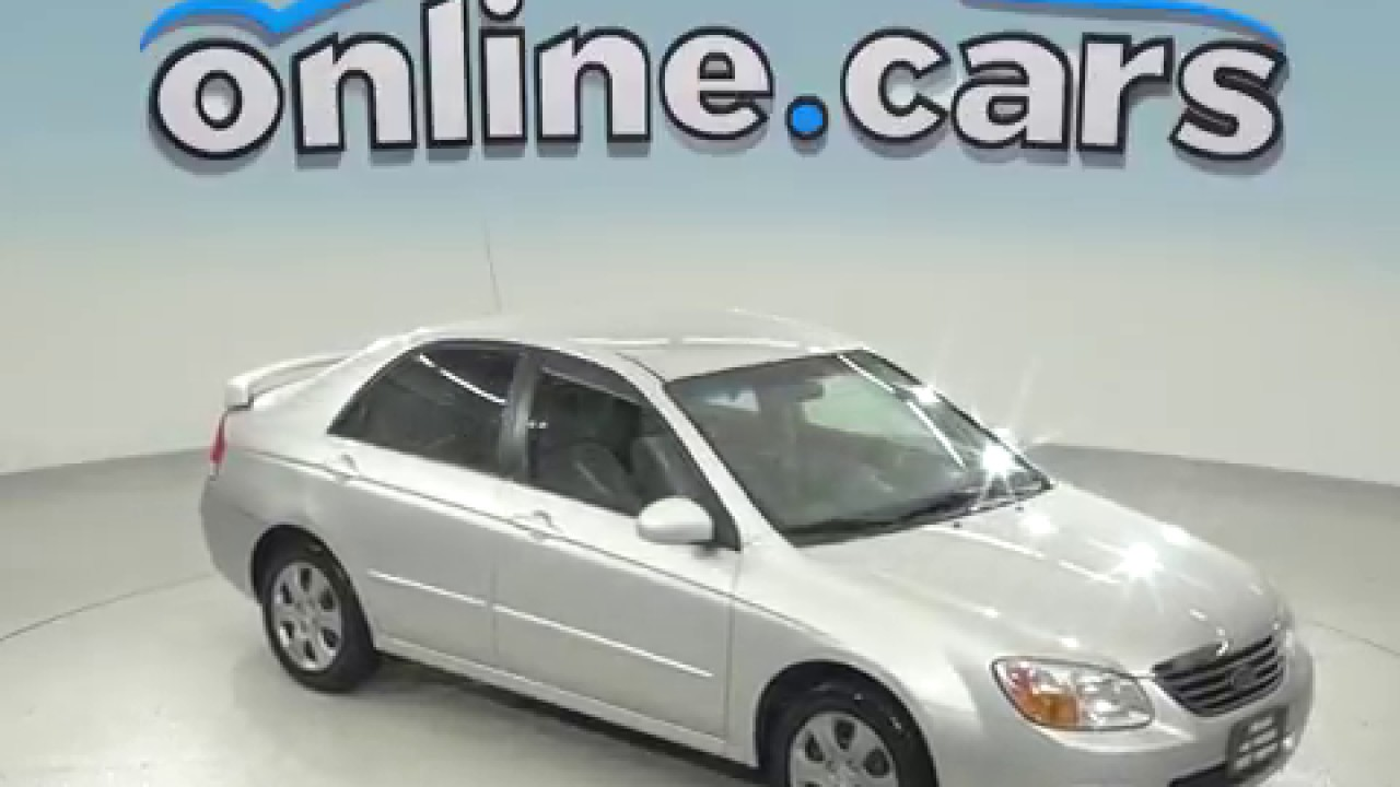 OC97513RP Used 2008 Kia Spectra EX Sedan Silver Test Drive, Review, For Sale