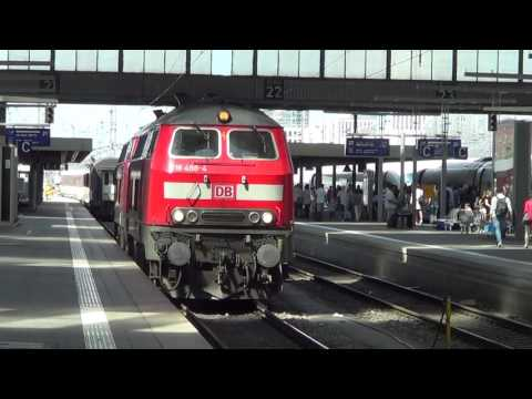 Locomotive class 218 from DB Munich