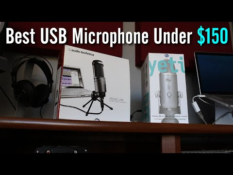 Best USB Mic Under $150: Yeti vs AT2020 Comparison