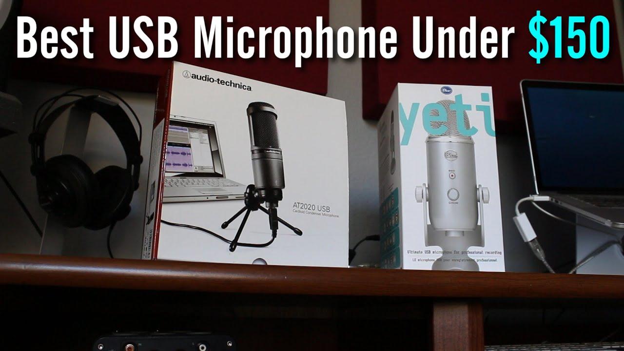 best usb mic under 150 yeti vs at2020 comparison youtube. Black Bedroom Furniture Sets. Home Design Ideas