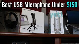 Best USB Mic Under $150: Yeti vs AT2020 Comparison