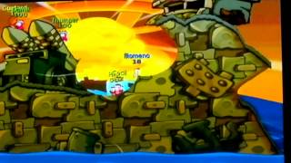 worms battle islands wii