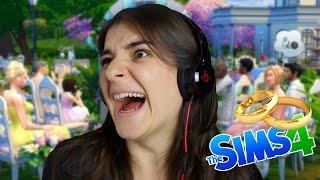 VOU ME CASAR! | Sims 4 (8) - PupiGames