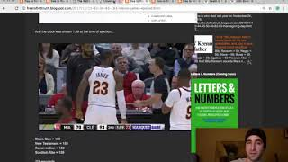 Zachary K Hubbard  LeBron Jamess first career ejection +Lesson on false jews & real jews