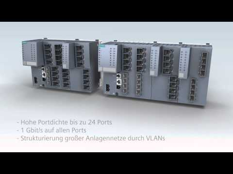 SCALANCE XM-400 Flexible Strukturierung von Automatisierungsnetzen