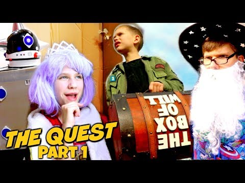 The Box of Will Quest Part 1: 1 Million Subscriber Special SuperHeroKids SHK Comic in Real Life