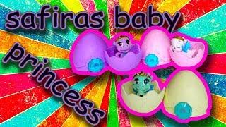 Юля распаковывает игрушки /safiras baby princess ei / polly pocket
