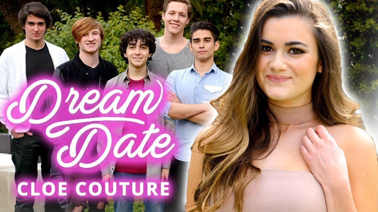 She must date 7 GUYS at once! DREAM DATE w/ CLOE COUTURE