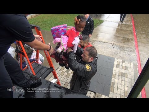 Houston TX Flooding - People and Pet Rescue 8-27-17