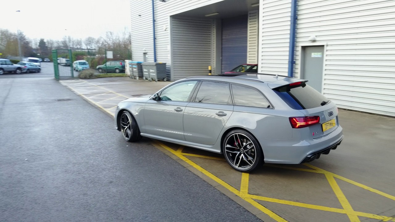 audi rs6 performance edition in nardo grey youtube. Black Bedroom Furniture Sets. Home Design Ideas