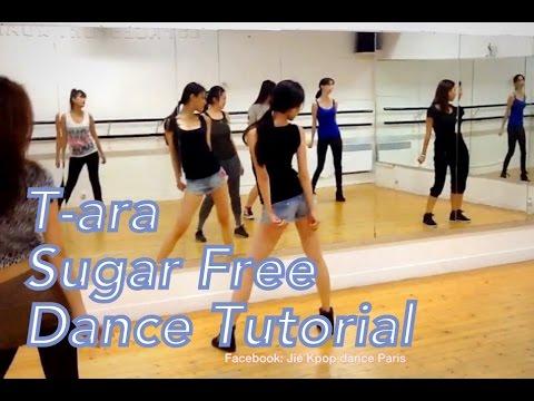 t ara 티아라 sugar free dance tutorial by jiekpopdance
