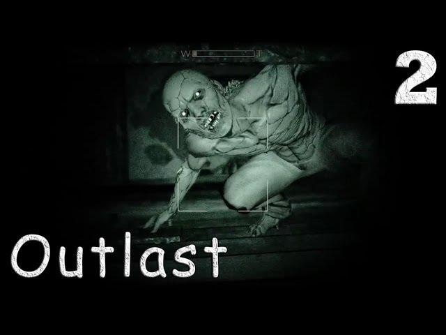 Смотреть прохождение игры Outlast. Серия 2 - Подвал. Темнота. Псих с ножом.