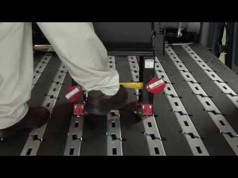 AbiliTrax Step-N-Lock latching mechanisms