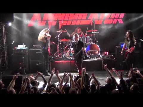 Annihilator  Set The World On Fire & Stonewall  @ Sticky Fingers, Gothenburg 2016