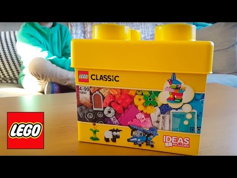 LEGO Classic 10692 Creative Bricks box - YouTube