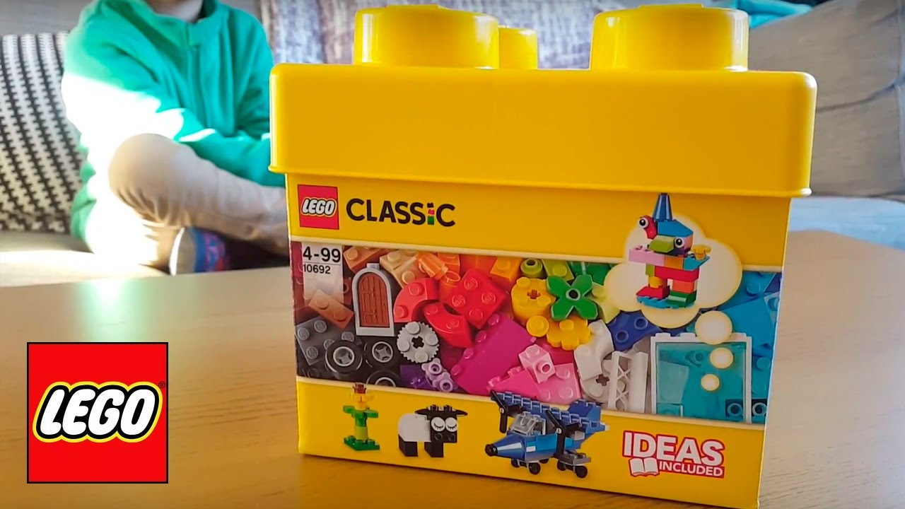 LEGO Classic 10692 Creative Bricks box