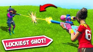 *WORLDS LUCKIEST* SNIPER SHOT EVER!! – Fortnite Fails and WT…