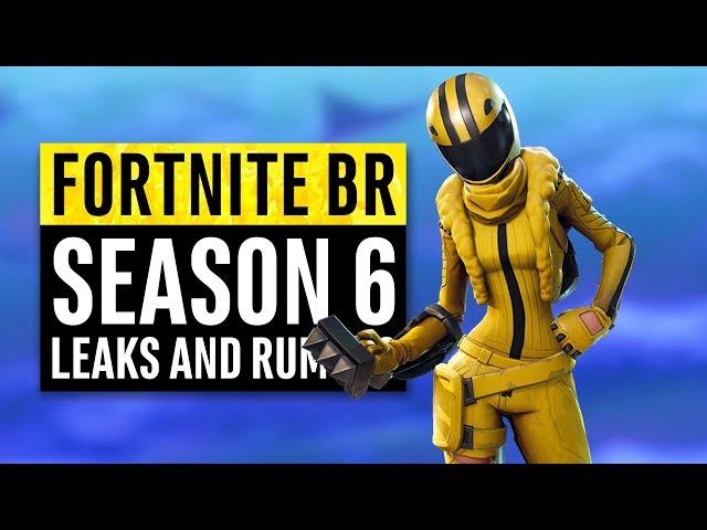 Fortnite | Season 6 Leaks and Insane Theories