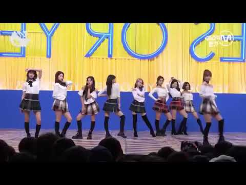 TWICE [Yes or Yes] dance 反転