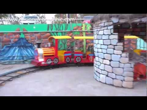 Kavil Enjoys Train Ride at Amusement Park Iscon Mall SG Road in Ahmedabad Gujarat India