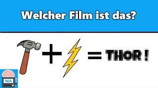 Nur 10% können diese Filme erraten! I Ratespiel - Filme erkennen anhand von Emojis - Video Test