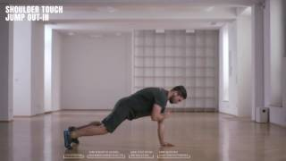 Online Fitness I How To I Shoulder Touch Jump Out-In