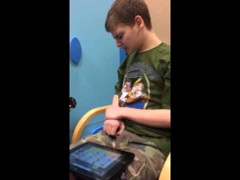 Using Dynavox T10 in music therapy