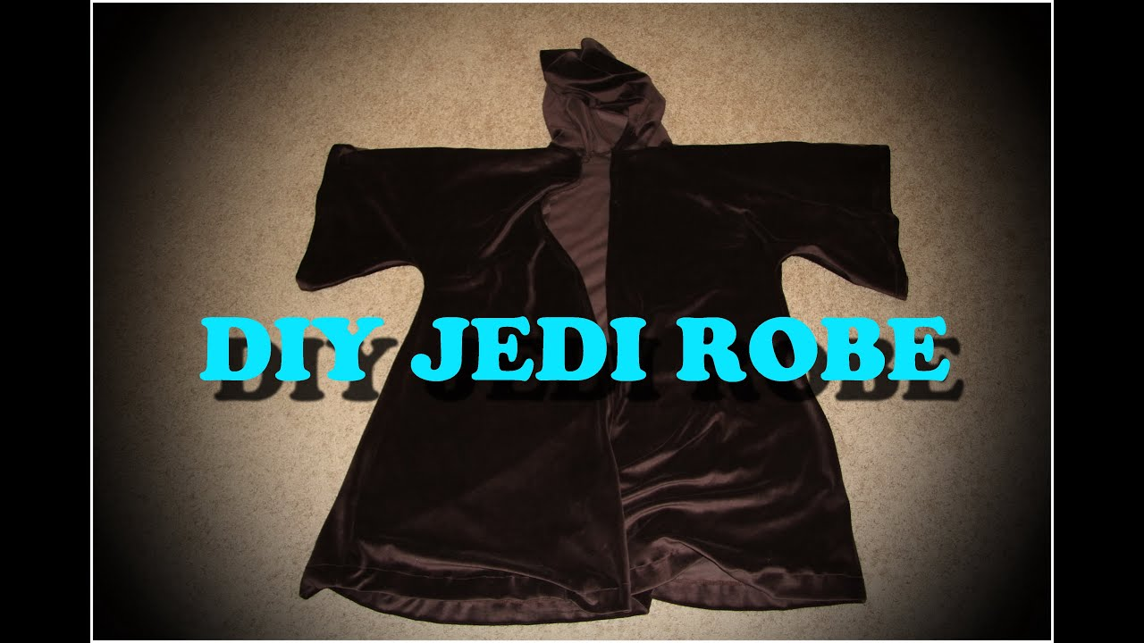 How to diy jedi robes youtube solutioingenieria Choice Image