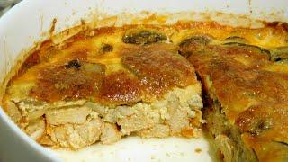 Ужин на загляденье Куриная грудка с сыром запеченные в духовке Вкусный и простой рецепт