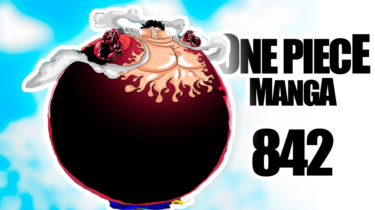 I sculpt a character from the anime called one piece. One Piece Review 842 | ¡Luffy Tankman! | La Nueva Forma ...