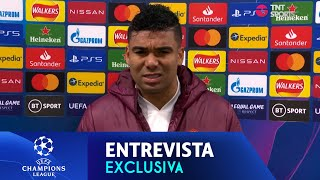 """REAL MADRID É O MAIOR CLUBE DO MUNDO, MAS SE GANHA DENTRO DO CAMPO"" - EXCLUSIVA COM CASEMIRO"