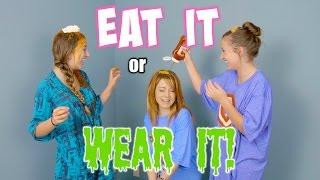 Eat It or WEAR IT Challenge  {ft. Lindsey Stirling}