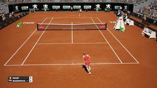 Simona Halep vs Maria Sharapova - AO International Tennis PS4 Gameplay