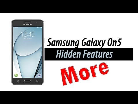 More Hidden Features of the Samsung Galaxy On5 You Don't Know About