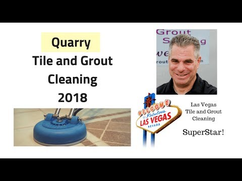 Quarry Tile and Grout Cleaning Las Vegas