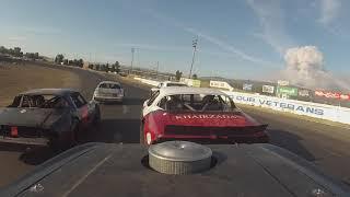 Ukiah speedway Bomber Heat Race 2018